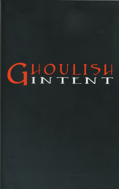 Ghoulish Intent - Cover